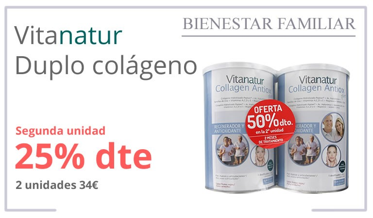VITANATUR COLLAGEN PACK 2X360G - 50% 2ª UNIDAD