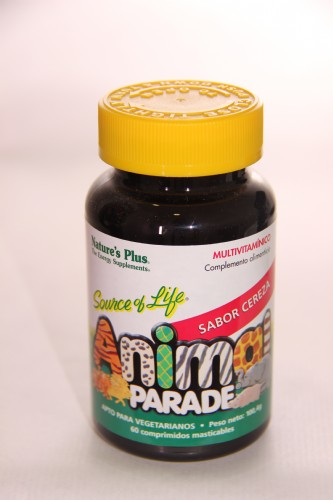 Animal parade multivitaminico, 60comp,cereza,nat