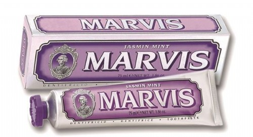 Marvis pasta jasmin mint