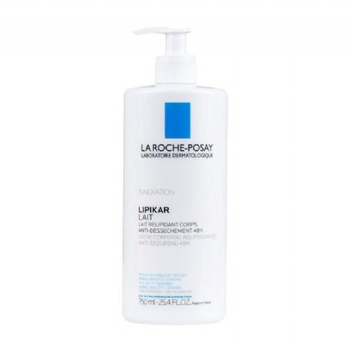 LA ROCHE POSAY lipikar lait corporal relipidizante antidesec (750 ml)
