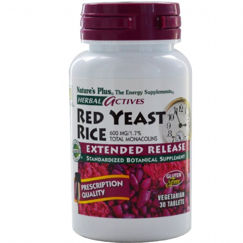 NATURE'S PLUS RED YEAST RICE 30COMP