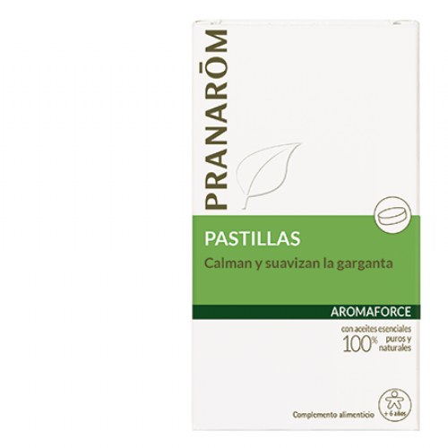 PRANAROM AROMAFORCE PASTILLAS