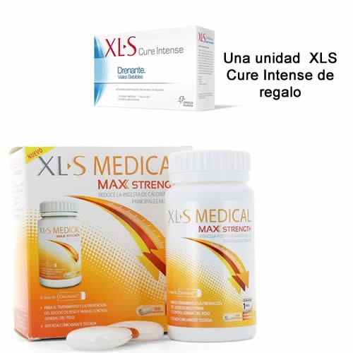 PRODUCTO Xls max strength (120 comp) + Xls Drenante Viales Bebibles (10 Viales)