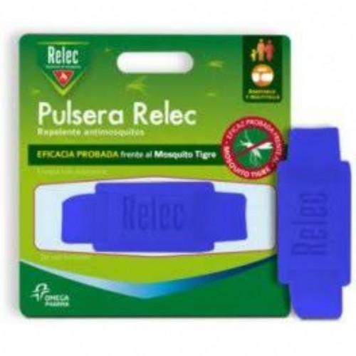 Relec pulsera antimosquitos repelente (color azul)