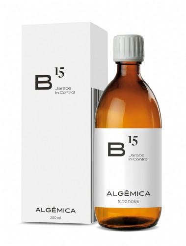 Algemica b 15 jarabe in control