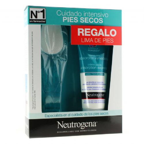 PIES CREMA ABSORCION INMEDIATA neutrogena formula noruega (100 ml)