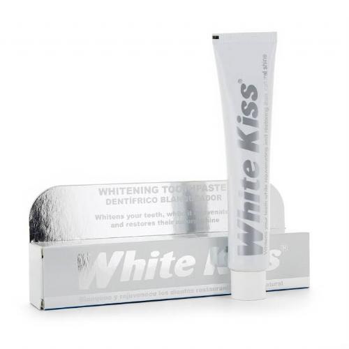 White kiss dentifrico blanqueador (50 ml)