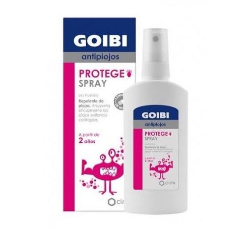 Goibi antipiojos protege spray repelente piojos (125 ml)