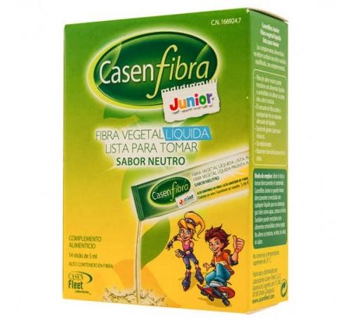 FIBRA VEGETAL LIQUIDA casenfibra junior (14 sobres 5 ml)