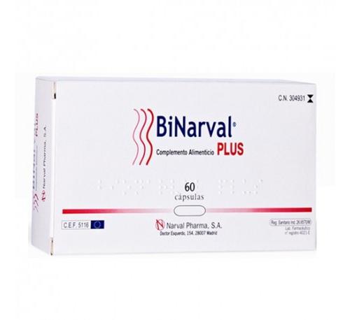 Binarval plus (760 mg 60 caps)