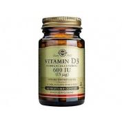 Vitamina d3 60 ui 15 mcg 60cap     solgar