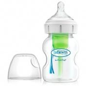 DR BROWN`S NATURAL FLOW biberon boca ancha pp options (270 ml)