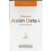Accion dieta 4 comp (30 comp)