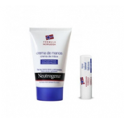 LOCION CORPORAL + NEUTROGENA LABIOS SPF 20 neutrogena crema de manos concentrada + (kit)