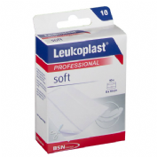 APOSITO ADHESIVO leukoplast soft (tira 6x10 cm 10 u)