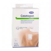 APOSITO ESTERIL cosmopor steril (10 cm x  8 cm  5 apositos)