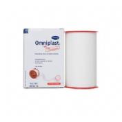 Esparadrapo hipoalergico - omniplast (tejido resistente blanco 10 m  x 10 cm)