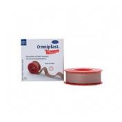Esparadrapo hipoalergico - omniplast (tejido resistente 5 m x 1.25 cm)