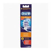 Cepillo dental electrico recargable recambio - oral-b drumbrush eb 30-2 (2 u)