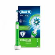ORAL B PRO 600 CROSS ACTION cepillo dental electrico recargable (colour verde)