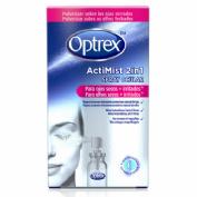 OJOS SECOS E IRRITADOS optrex actimist 2 en 1 spray ocular (10 ml)