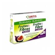 Frutas y fibras clasico (24 cubos)