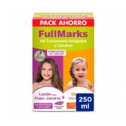 PEDICULICIDA fullmarks antipiojos y liendres champu + locion (kit 100+150 ml)