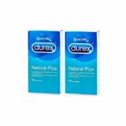 Durex natural plus pack 50%dte 2a unidad