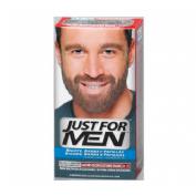 GEL COLORANTE just for men bigote y barba (30 cc castaño claro)