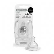 SUAVINEX PAPILLA tetina silicona boca ancha (ba) (0 meses 2 u)