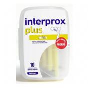 CEPILLO ESPACIO INTERPROXIMAL - INTERPROX PLUS (MINI ENVASE AHORRO 10 U)