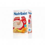 Nutriben desayuno papilla de trigo con fruta (900 g)