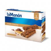 Bimanan barrita cereales al cacao c/ chocochips (31 g 8 bar)