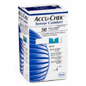 ACCU-CHEK SENSOR COMFORT tiras reactivas glucemia (50 u)