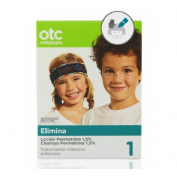 ANTIPIOJOS otc pack tto completo antipiojos permetrina 1.5% (locion y champu)