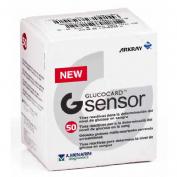 GLUCOCARD  G SENSOR tiras reactivas glucemia (50 tiras reactivas)
