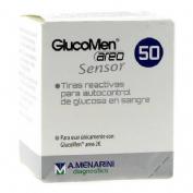 Tiras reactivas glucemia - glucomen areo sensor (50 tiras reactivas)