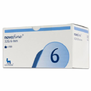 Aguja de insulina - novofine tip etw (32 g (0,23/5 mm  x 6 mm) 100 u)