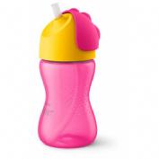 Philips avent vaso con pajita (300 ml + 12 m niña)