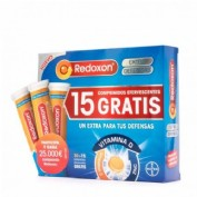Redoxon extra defensas vitamina c + zinc (naranja 30 comp ef)Pack 30+15