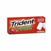 Chicle trident fresa fruit gragea