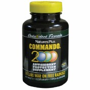 Nature´s plus commando 2000 (60 comp)