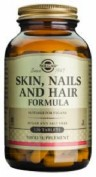 SOLGAR SKIN, NAILS AND HAIR FORMULA 120 COMP