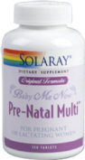 SOLARAY BABY ME NOW PRE-NATAL MULTI 150 TABLETAS