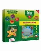 Relec pulsera click clack estrella