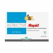 Gse entero astrictive rapid (24 comprimidos masticables)