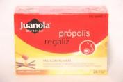 JUANOLA PROPOLIS PASTILLAS REGALIZ Y MIEL (24 PASTILLAS)