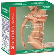 Somatoline cosmetic vientre y caderas express (duo pack 2 x 150 ml)