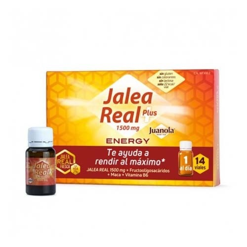 Juanola jalea real energy plus (14 ampollas bebibles)