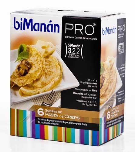 Bimanan pro crepes (210 g 35 g x 6 u)